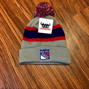 NWT official NHL New York Rangers Winter Hat